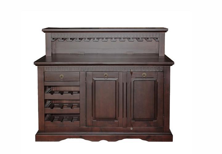 hindu ii bar pinie teilmassiv kolonial. Black Bedroom Furniture Sets. Home Design Ideas