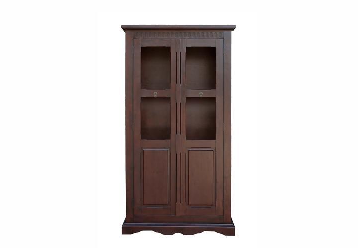 hindu ii vitrine pinie teilmassiv kolonial. Black Bedroom Furniture Sets. Home Design Ideas