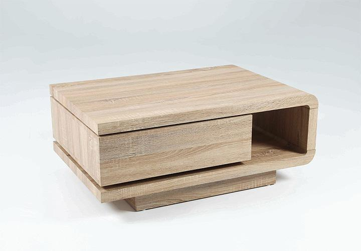 Couchtisch remo beistelltisch tisch in sonoma eiche for Wohnwand xynto