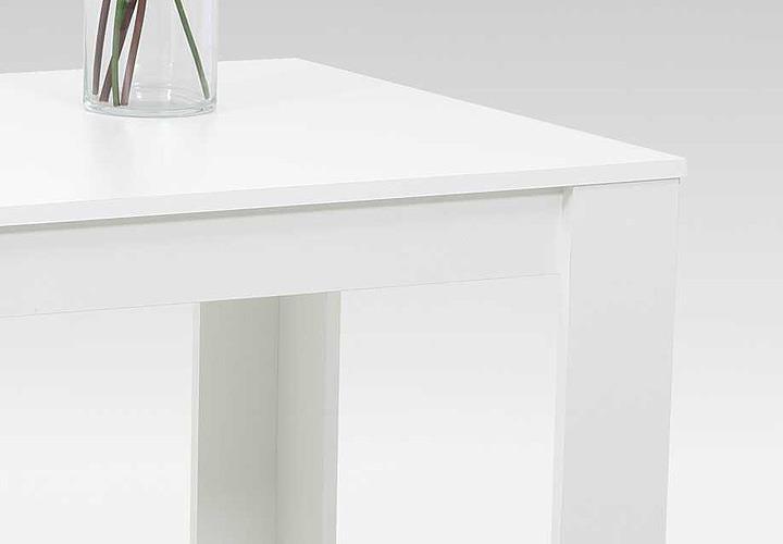 Apollo Esstisch Doris ~ Esstisch DORIS Vierfußtisch weiß 120×80 cm