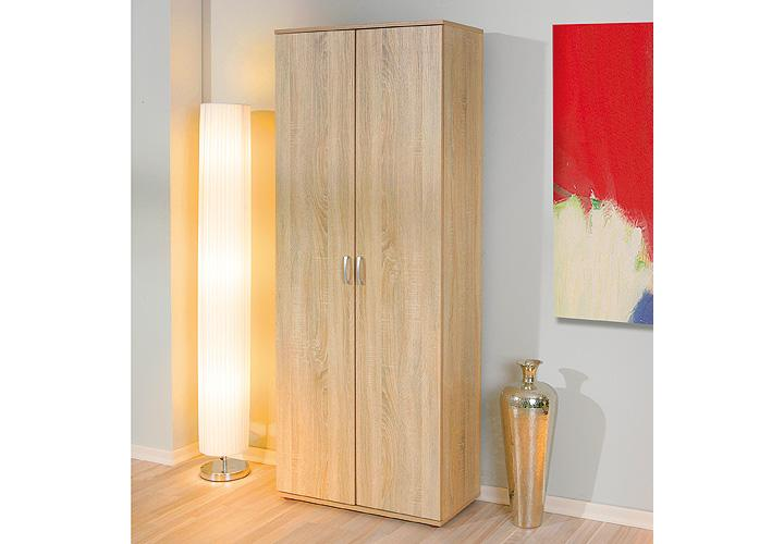 mehrzweckschrank gallo sonoma eiche 2 t rig. Black Bedroom Furniture Sets. Home Design Ideas