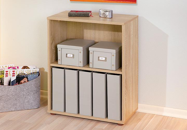 regal parini 1 wei h he 75 cm. Black Bedroom Furniture Sets. Home Design Ideas