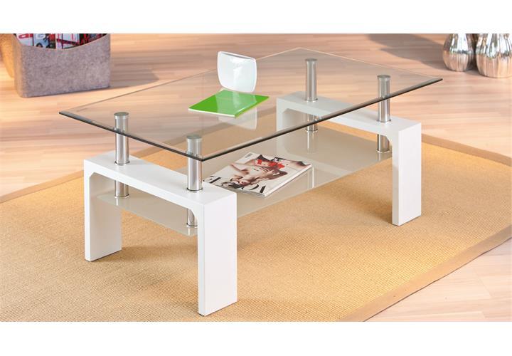 couchtisch wei und glas inspirierendes design f r wohnm bel. Black Bedroom Furniture Sets. Home Design Ideas