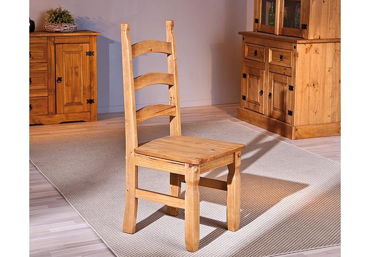stuhl mex holzstuhl esszimmerstuhl in kiefer massiv 2er set. Black Bedroom Furniture Sets. Home Design Ideas