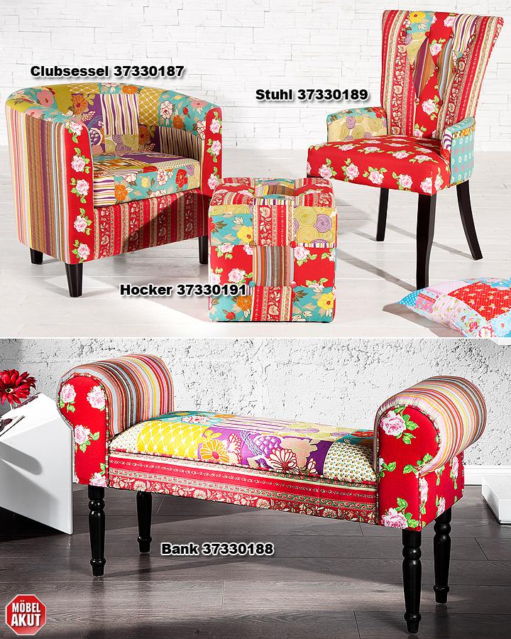 clubsessel ibiza sessel cocktailsessel stoff mehrfarbig bunt ebay. Black Bedroom Furniture Sets. Home Design Ideas