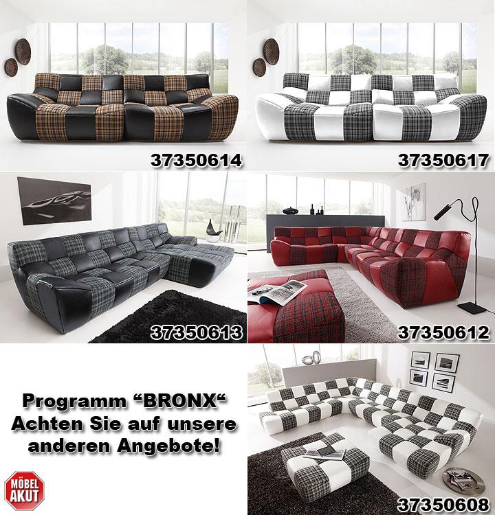 ecksofa bronx blau hellblau schwarz. Black Bedroom Furniture Sets. Home Design Ideas