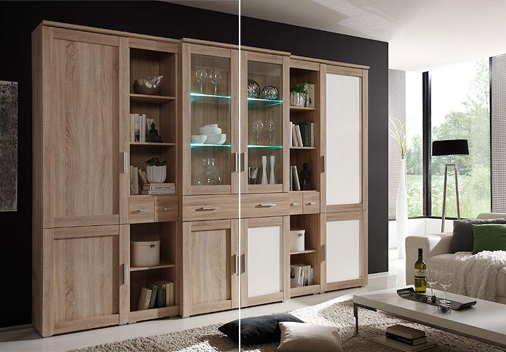Wohnwand Sonoma Eiche Grau Home Design Inspiration