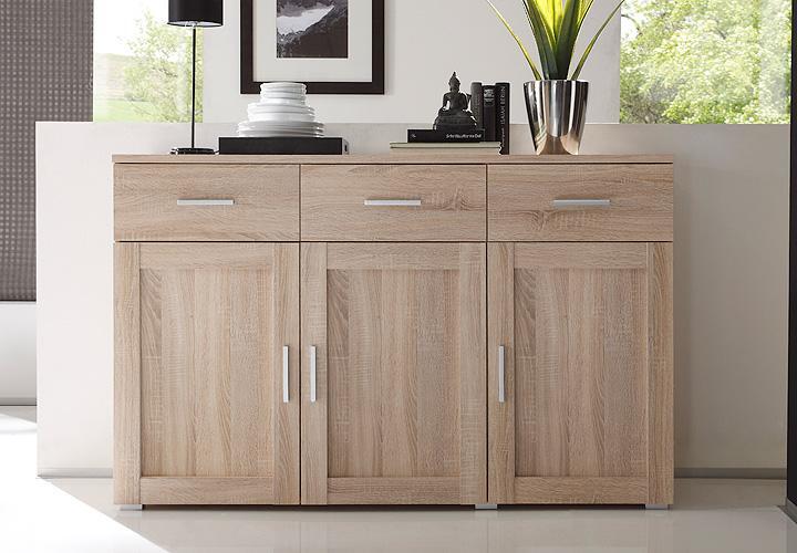 sideboard aristo sonoma eiche magnolia wendef llung. Black Bedroom Furniture Sets. Home Design Ideas
