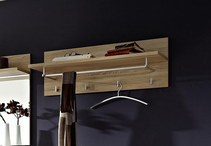 garderobenpaneel ii point sonoma eiche hell. Black Bedroom Furniture Sets. Home Design Ideas
