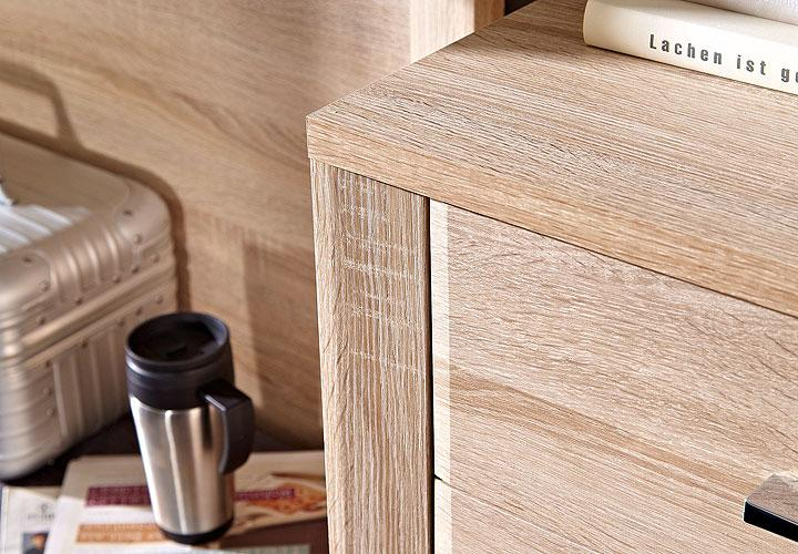 schuhschrank go schrank highboard in eiche sonoma dekor. Black Bedroom Furniture Sets. Home Design Ideas