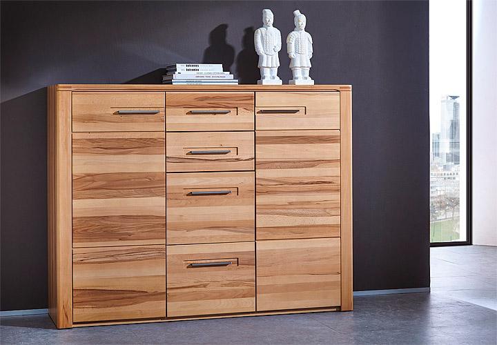 kommode typ 25 nature plus kernbuche massiv lackiert. Black Bedroom Furniture Sets. Home Design Ideas