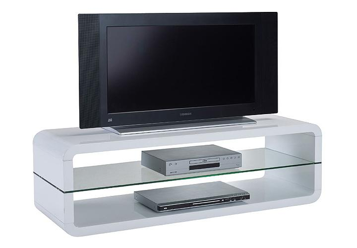 tv board anton mdf wei hochglanz glas esg. Black Bedroom Furniture Sets. Home Design Ideas
