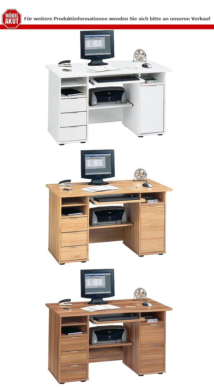 schreibtisch csl 220 computertisch b rotisch tisch b rom bel in kernbuche jahnke ebay. Black Bedroom Furniture Sets. Home Design Ideas