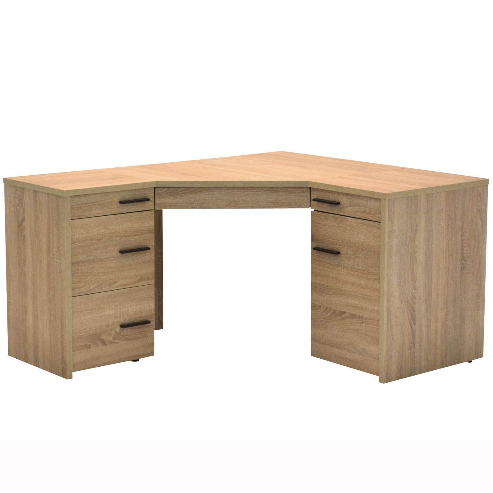 Eckschreibtisch CL 155 E Eiche Sonoma Laptoptisch Schreibtisch von ...