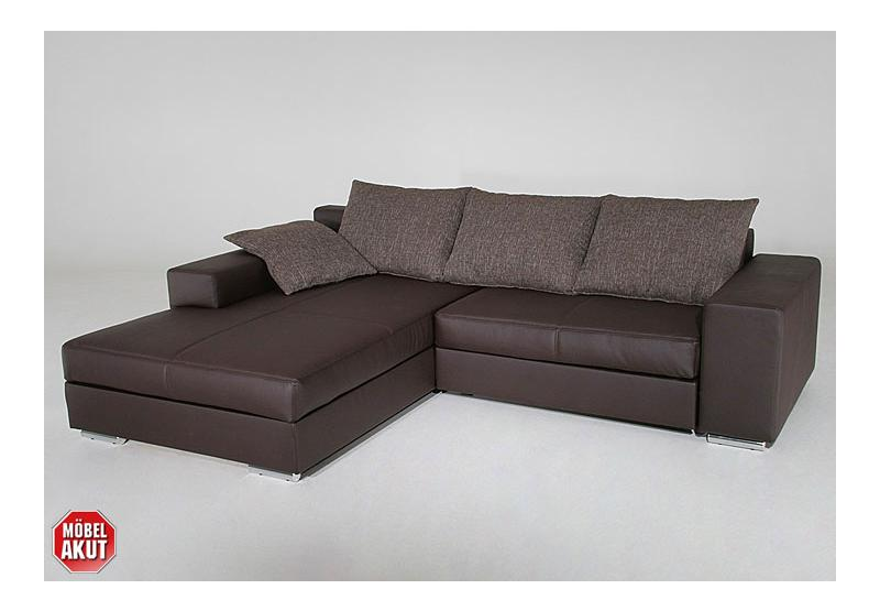 wohnlandschaft big sofa polsterecke braun neu ebay. Black Bedroom Furniture Sets. Home Design Ideas