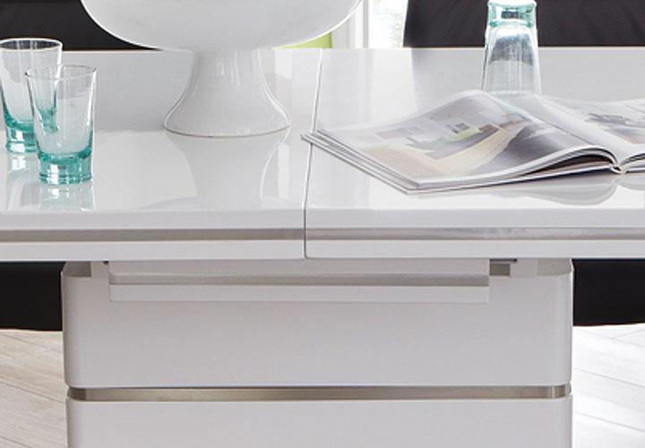 tischgruppe alando malte tisch wei hochglanz stuhl schwarz. Black Bedroom Furniture Sets. Home Design Ideas