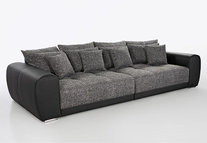 big sofa grau pictures to pin on pinterest. Black Bedroom Furniture Sets. Home Design Ideas