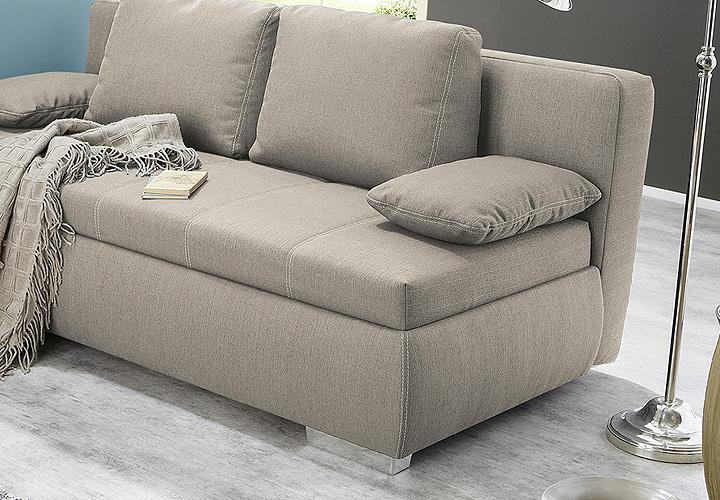 boxspring schlafsofa memphis sofa dauerschl fer in beige. Black Bedroom Furniture Sets. Home Design Ideas
