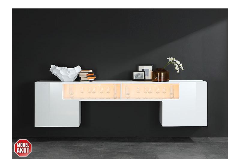 iron h ngeschrank wei wei hochglanz. Black Bedroom Furniture Sets. Home Design Ideas