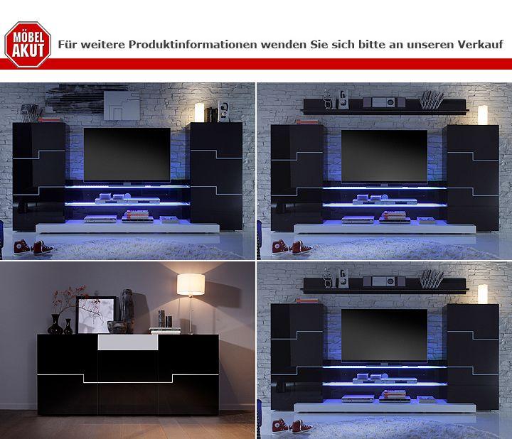 Moderne Wohnwand Twin : Wohnwand Twin Aufbauanleitung  Wohnwand TWIN