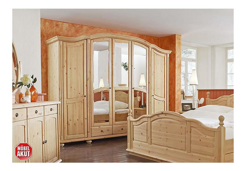 kleiderschrank arosa schrank in kiefer massiv gewachst. Black Bedroom Furniture Sets. Home Design Ideas
