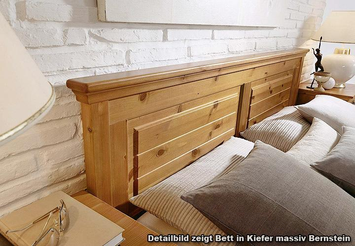 bett malta schlafzimmerbett in kiefer massiv wei 200x200. Black Bedroom Furniture Sets. Home Design Ideas