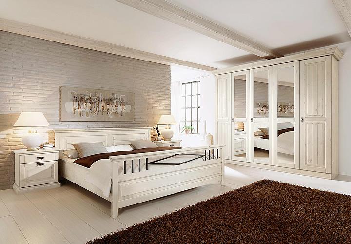 schlafzimmerset 2 malta schlafzimmer in kiefer massiv wei