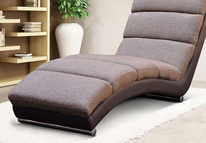 relaxliege hollywood liege chaiselounge in braun. Black Bedroom Furniture Sets. Home Design Ideas