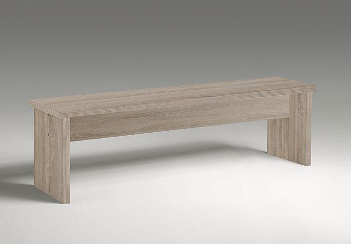 sitzbank zappy esszimmerbank bank in sonoma eiche s gerau 140 cm ebay. Black Bedroom Furniture Sets. Home Design Ideas