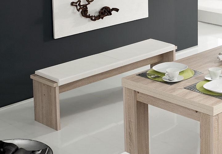 sitzbank zappy esszimmerbank bank in sonoma eiche s gerau 160 cm. Black Bedroom Furniture Sets. Home Design Ideas