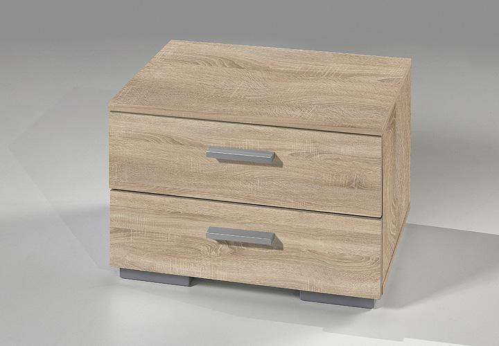 nachtkommode two kommode in sonoma eiche s gerau dekor. Black Bedroom Furniture Sets. Home Design Ideas