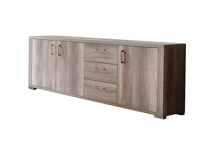 sideboard matti kommode wildeiche tr ffel breite 250 cm ebay. Black Bedroom Furniture Sets. Home Design Ideas
