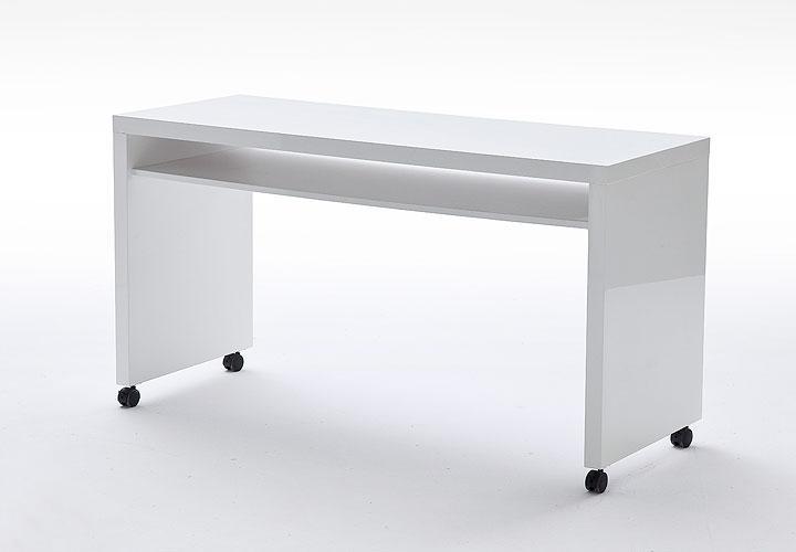 3 tlg schreibtisch kombi sydney wei hochglanz lack. Black Bedroom Furniture Sets. Home Design Ideas