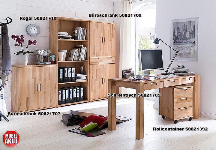 schreibtisch teno kernbuche massiv ge lt. Black Bedroom Furniture Sets. Home Design Ideas
