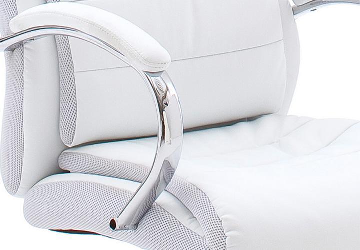 drehstuhl pascal schreibtischstuhl in wei top ausstattung. Black Bedroom Furniture Sets. Home Design Ideas