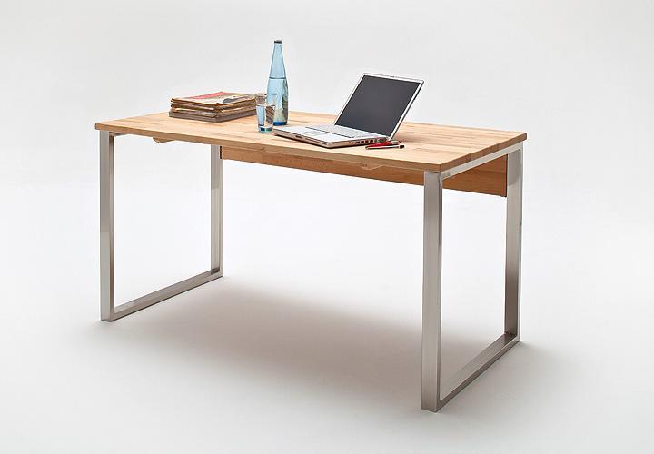 schreibtisch lucy computertisch tisch in kernbuche massiv. Black Bedroom Furniture Sets. Home Design Ideas