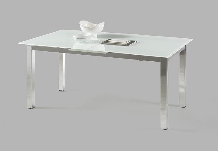 esstisch bento tisch mit glas in wei ausziehbar 140 180. Black Bedroom Furniture Sets. Home Design Ideas