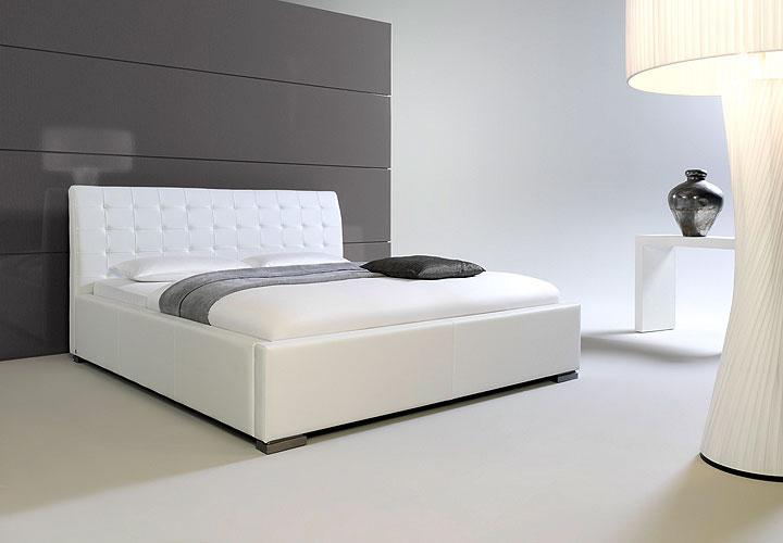 sabi ii polsterbett wei 180x200 cm. Black Bedroom Furniture Sets. Home Design Ideas