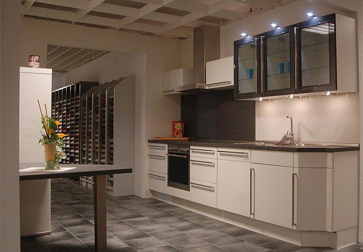 nobilia einbauk che ausstellungsk che k che inkl e ger te geschirrsp ler ebay. Black Bedroom Furniture Sets. Home Design Ideas