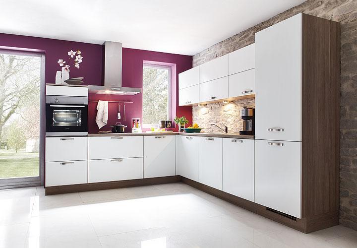 Nobilia Kuche Eiche Provence Magnolia ~ Sammlung der ...
