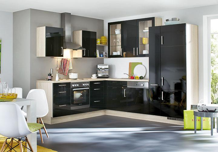 einbauk che nobilia l k che k che inkl e ger te geschirrsp ler 983 ebay. Black Bedroom Furniture Sets. Home Design Ideas