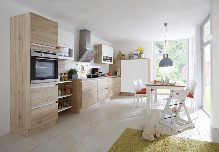 nobilia einbauk che l k che inkl e ger te 727. Black Bedroom Furniture Sets. Home Design Ideas