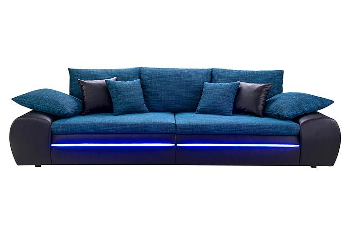 big sofa blau bestseller shop f r m bel und einrichtungen. Black Bedroom Furniture Sets. Home Design Ideas
