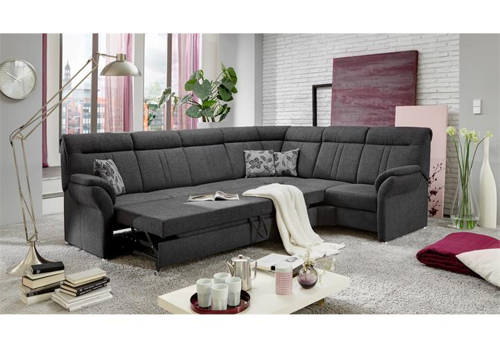 ecksofa marseille wohnlandschaft sofa in anthrazit bettfunktion bettkasten neu. Black Bedroom Furniture Sets. Home Design Ideas