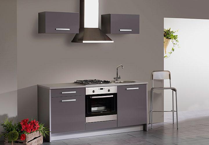 Kücheninsel Leerblock ~ hochglanz küchen in weiß graue arbeitsplatte grüne deko eckregale pictures to pin on pinterest