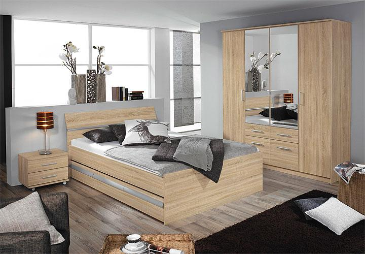 schlafzimmer i apulien sonoma eiche s gerau. Black Bedroom Furniture Sets. Home Design Ideas