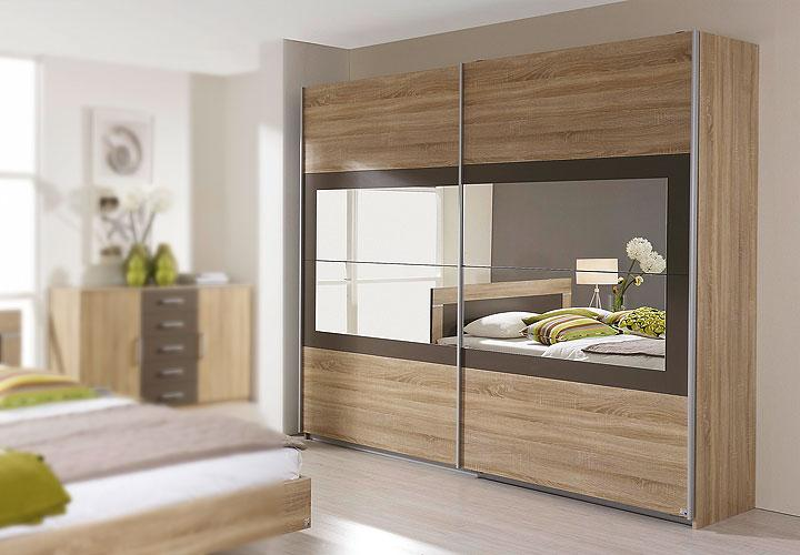 schwebet renschrank venlo sonoma eiche lavagrau spiegel 271. Black Bedroom Furniture Sets. Home Design Ideas