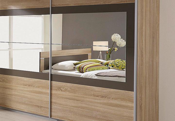 schlafzimmerset venlo sonoma eiche s gerau lavagrau. Black Bedroom Furniture Sets. Home Design Ideas