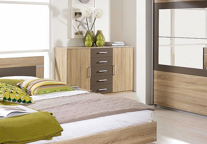 kommode venlo sonoma eiche s gerau lavagrau. Black Bedroom Furniture Sets. Home Design Ideas