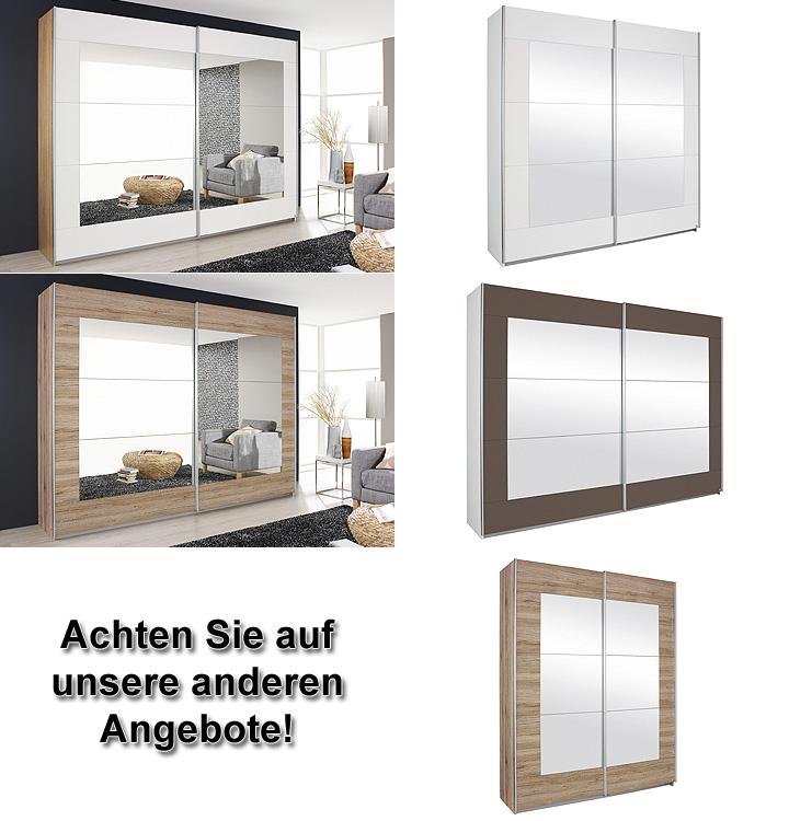 schwebet renschrank alegro sanremo eiche mit spiegel 271. Black Bedroom Furniture Sets. Home Design Ideas